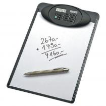 Genie M 836 A4 Clipboard with 8-digit calculator